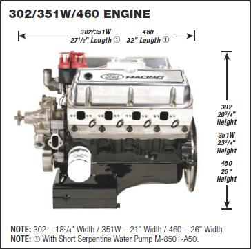 M 6007 X302b Ford Performance Boss 302 345 Hp B Cam